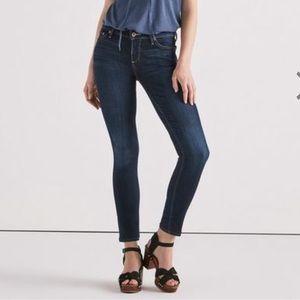 Lucky Brand 26 / 8 Lolita Skinny Leg Jeans Blue
